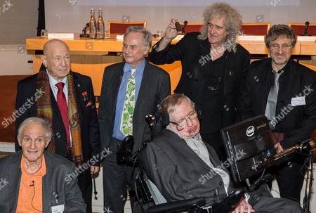 Editorial photo of STARMUS medal launch, The Royal Society, London, Britain - 16 Dec 2015