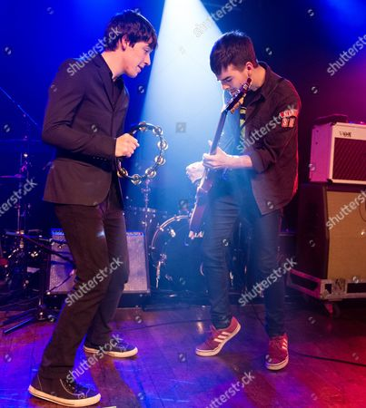 Stock Photo of The Strypes - Ross Farrelly , Josh McClorey
