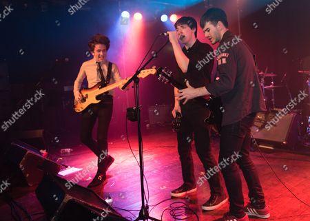 The Strypes - Peter O'Hanlon, Ross Farrelly, Josh McClorey