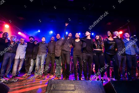 Bernard Fowler,Doug Wimbish, Little Axe, Glen Matlock, and guests. Tonights concert was to to raise awareness of Project 0; a marine conservation charitable fund. Cara Delevingne and Ronnie Wood were special guests