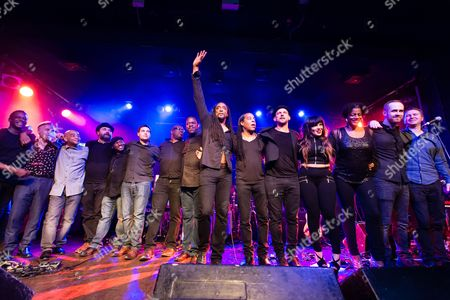 Bernard Fowler, Doug Wimbish, Little Axe, Glen Matlock, and guests. Tonights concert was to to raise awareness of Project 0; a marine conservation charitable fund. Cara Delevingne and Ronnie Wood were special guests