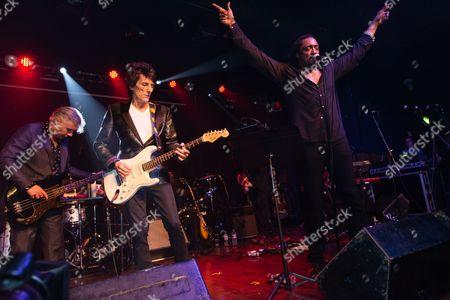 Ronnie Wood, Bernard Fowler, Glen Matlock