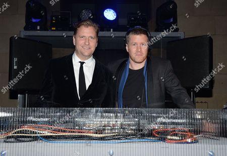 Dan Lywood and Ben Bridgewater
