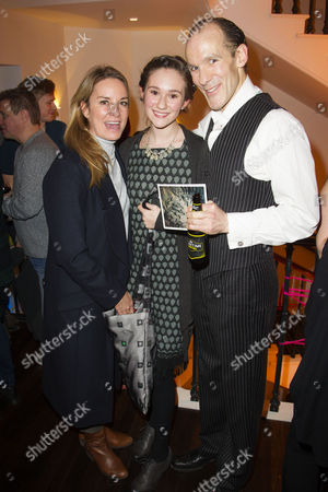 Tamzin Outhwaite, Beatrice Paisley Day and Simon Paisley Day (Once-ler)