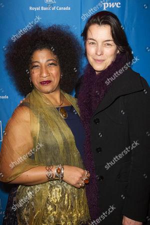 Melanie La Barrie (Ensemble) and Olivia Williams