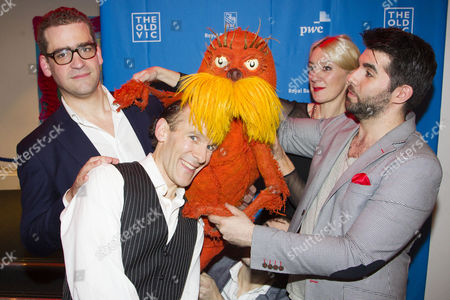 Editorial photo of 'The Lorax' musical, After Party, London, Britain - 16 Dec 2015