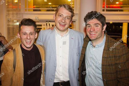 Ben Stott, Thomas Arnold (Ensemble) and Harry Peacock
