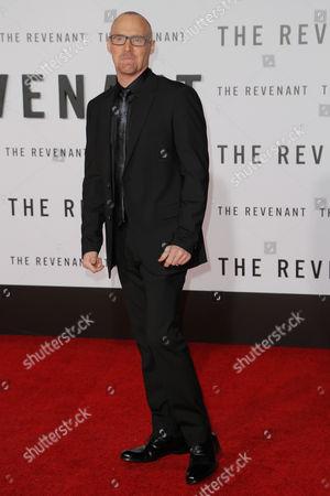 Editorial image of 'The Revenant' film premiere, Los Angeles, America - 16 Dec 2015