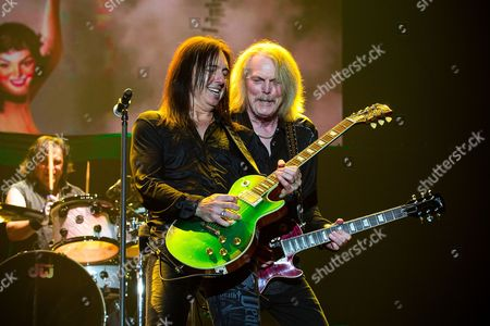 Robbie Crane and Scott Gorham