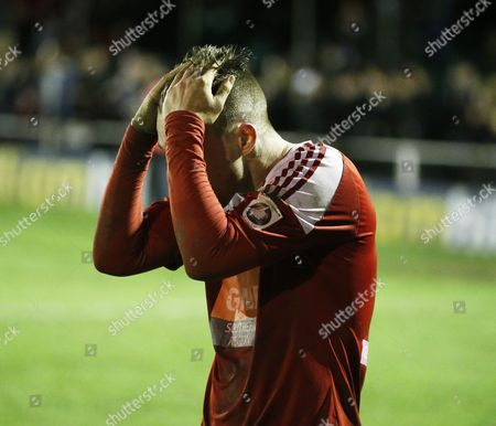 Whitehawk's Jake Robinson after the game