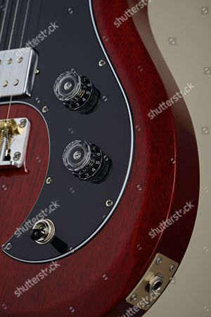 Detail Of A Prs S2 Vela Electric Guitar