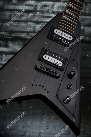 Detail Of A Jackson Js Series Js32t Rhoads Electric Guitar