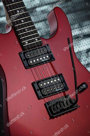 Detail Of A Jackson Js Series Js12 Dinky Electric Guitar
