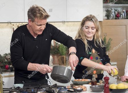 Gordon Ramsay and Matilda Ramsay