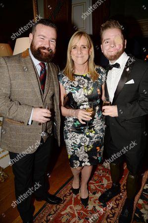 Stuart Harris, Francie Clarkson and Ricky Furgusson