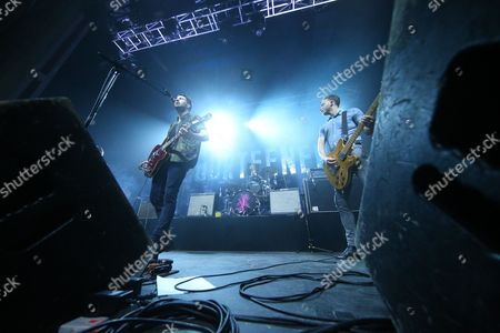 Editorial image of The Courteeners in concert at the O2 Academy, Glasgow, Scotland, Britain - 17 Dec 2015