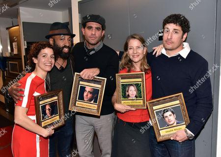 Catie Lazarus, Binky Griptite, Bobby Cannavale, Paola Antonelli, Jason Biggs