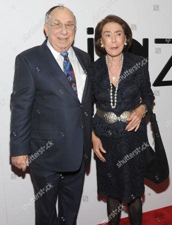 Stock Photo of Bob Appel and Mica Ertegun