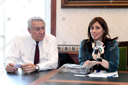 Claude Goasguen and Deputy Foreign Minister Tzipi Hotovely