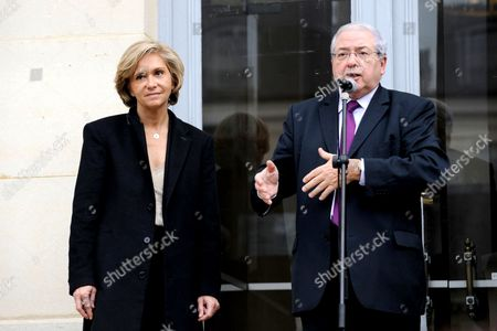 Valerie Pecresse and Jean-Paul Huchon