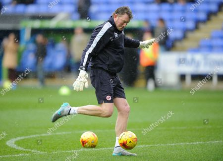 Reading goalkeeping coach Dave Beasant during the Sky Bet Championship match between Reading and Blackburn Rovers played at Madejski Stadium, Reading on the 20th of December 2015
