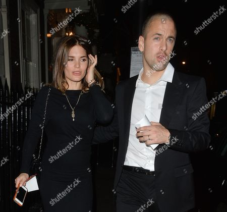 Joe Cole and wife Carly Zucker