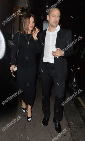 Stock Picture of Joe Cole and wife Carly Zucker