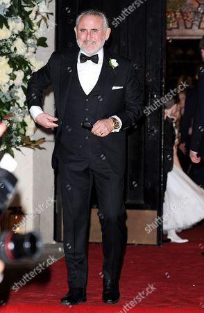 Editorial image of Wedding of Frank Lampard and Christine Bleakley at St Paul's Knightsbridge, London, Britain - 20 Dec 2015