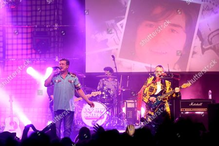 The Bay City Rollers - Les McKeown and Stuart John Wood