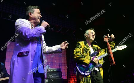 The Bay City Rollers - Les McKeown and Stuart Wood