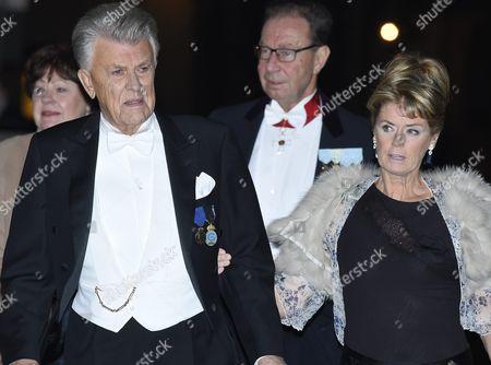 Sven-Bertil Taube and Mikaela Taube