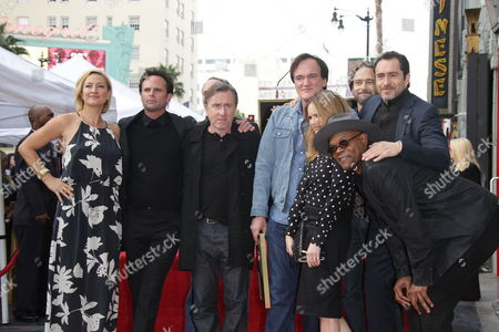 Editorial image of Quentin Tarantino honoured with a Star on the Hollywood Walk of Fame, Los Angeles, America - 21 Dec 2015