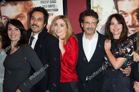 Zabou Breitman, Vincent Elbaz, Julie Gayet, Pascal Elbe and Anne Charrier