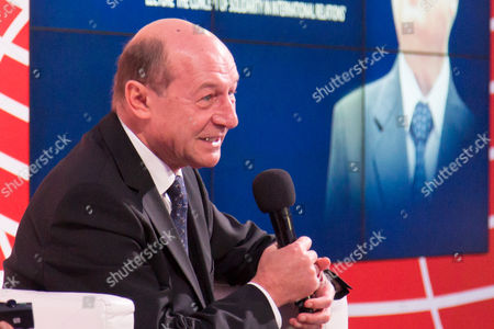 Stock Photo of Former President of Romania, Traian Basescu