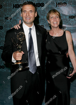 Stock Image of Philip Rosenthal and Monica Horan