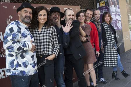 Jose Corbacho, Toni Acosta, Juan Cruz, Carlos Areces, Nuria Gago, Ruben Ochandiano, Ernesto Alterio and Lola Duenas