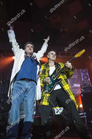 Les McKeown - The Bay City Rollers and guitarist Stuart John Wood - The Bay City Rollers
