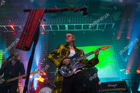 Editorial photo of The Bay City Rollers in concert at the Barrowlands, Glasgow, Scotland, Britain - 22 Dec 2015