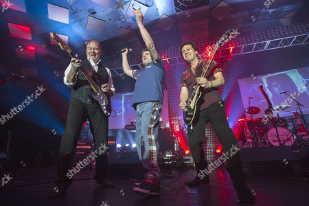 Editorial image of The Bay City Rollers in concert at the Barrowlands, Glasgow, Scotland, Britain - 22 Dec 2015