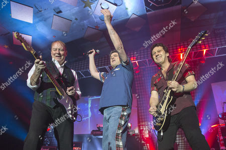Stock Photo of Alan Longmuir and Les McKeown - The Bay City Rollers,