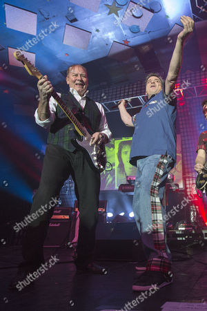 Stock Image of Alan Longmuir and Les McKeown - The Bay City Rollers,