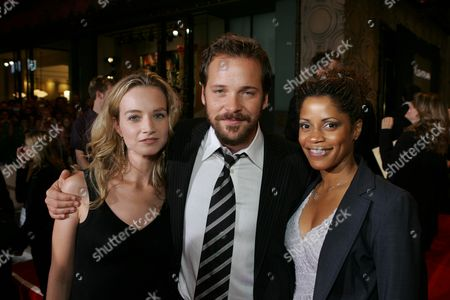 Bess Wohl, Peter Sarsgaard and Judith Scott