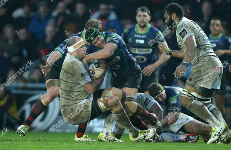 Editorial picture of Newport Gwent Dragons v Cardiff Blues - Guinness PRO12, Britain - 27 Dec 2015