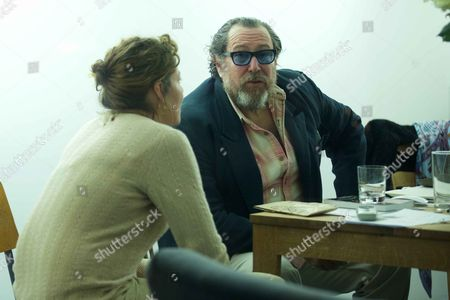 Lola Schnabel and father, Julian Schnabel