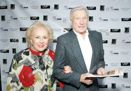 Doris Roberts and Gene Barry