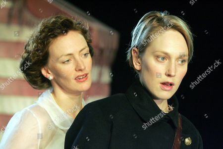 'Twelfth Night' at the West Yorkshire Playhouse - Susie Trayling (Olivia), Hattie Morahan (Viola)