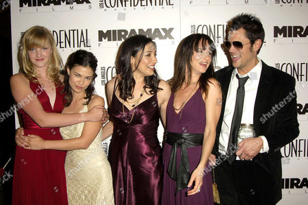 Sophie Traub, Producer Danielle Renfrew, Writer / Director Katrina Bronson, Juliette Lewis and Johnny Knoxville