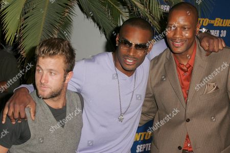 Stock Photo of Scott Caan, Tyson Beckford and Dwayne Adway