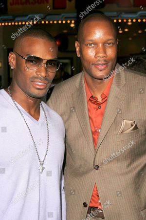 Tyson Beckford and Dwayne Adway