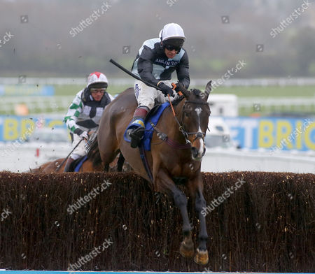 Village Vic and Richard Johnson winning The BetBright Best For Festival Betting Handicap Chase Cheltenham